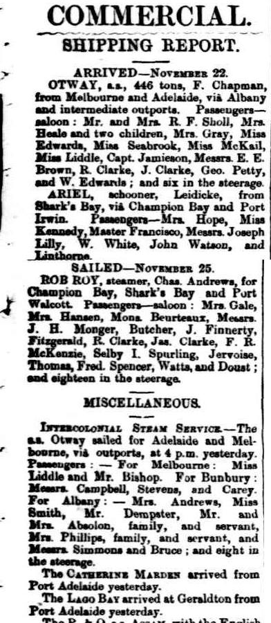 The Inquirer & Commercial News Wednesday 27 November 1878