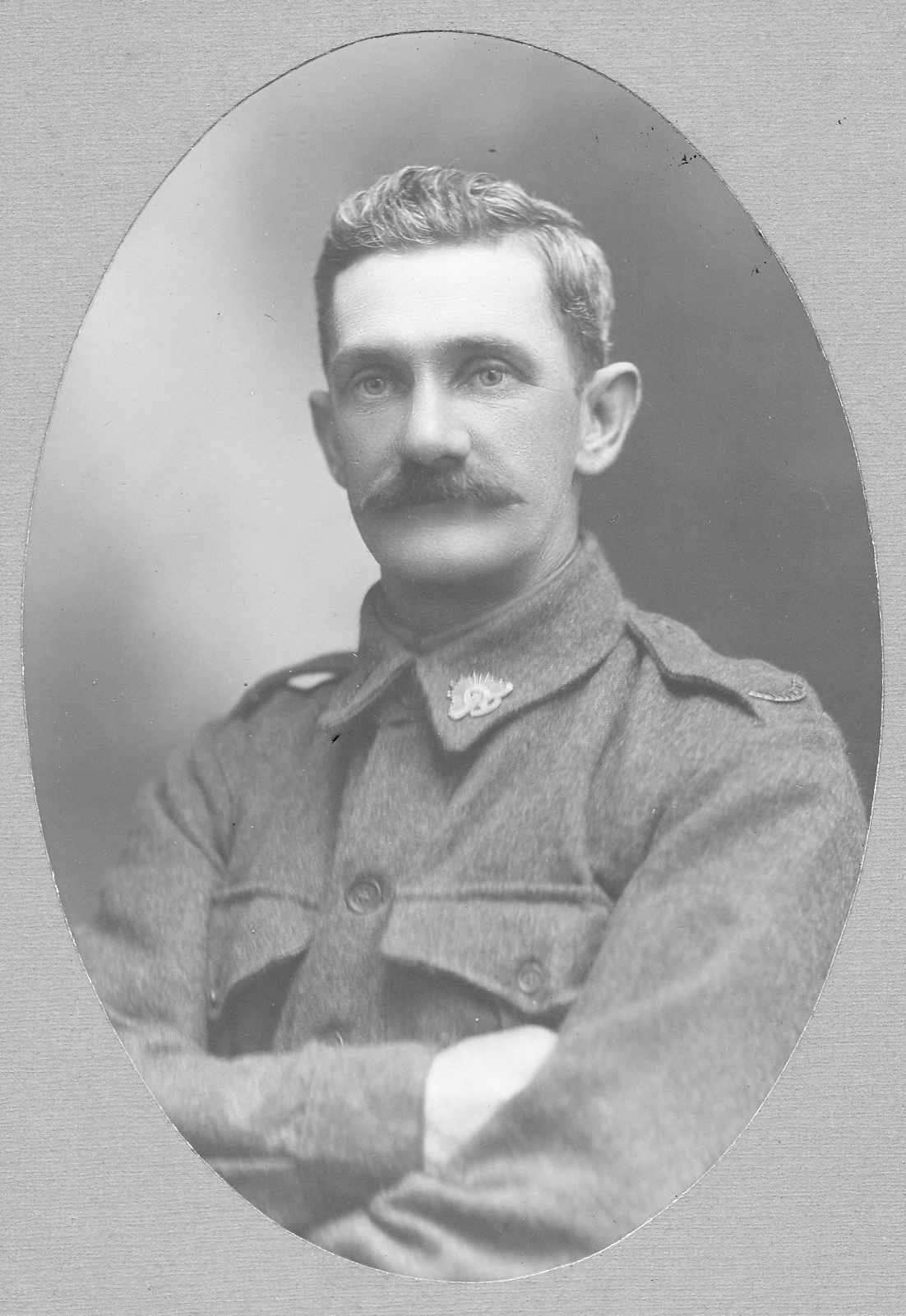 Thomas Henry Petty in uniform