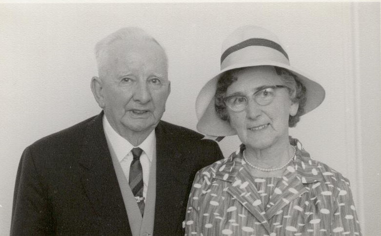 Frank and Gertrude Petty