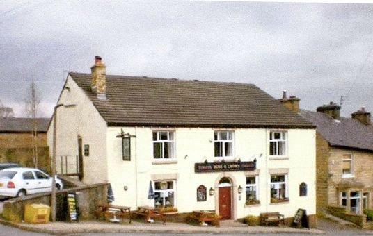 Rose and Crown Hotel- birthplace of Gertrude and Thomas Redfern Pye