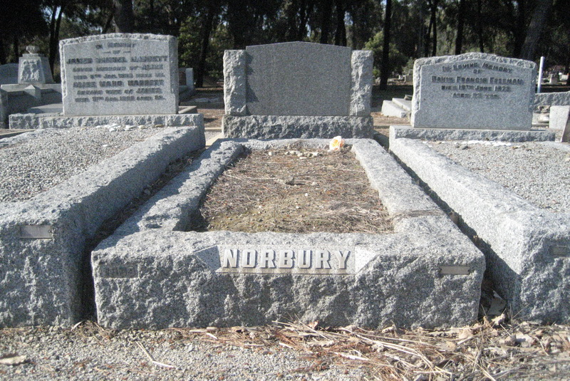 Grave of William and Bertha Norbury