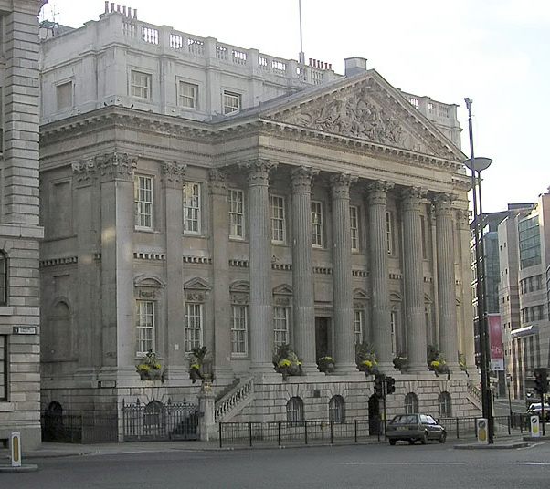 Contemporary photograph of the Mansion House