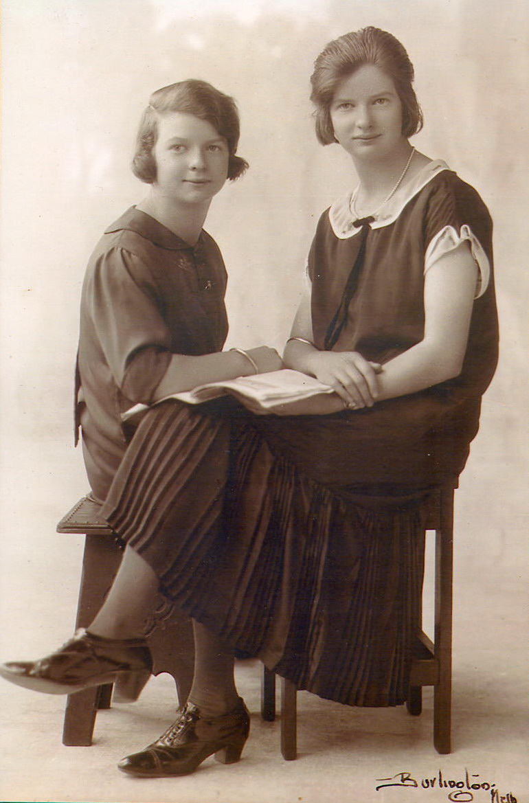 Marjorie and Joyce Petty