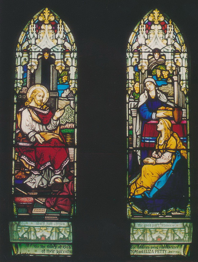 Tom and Eliza Petty Memorial Window