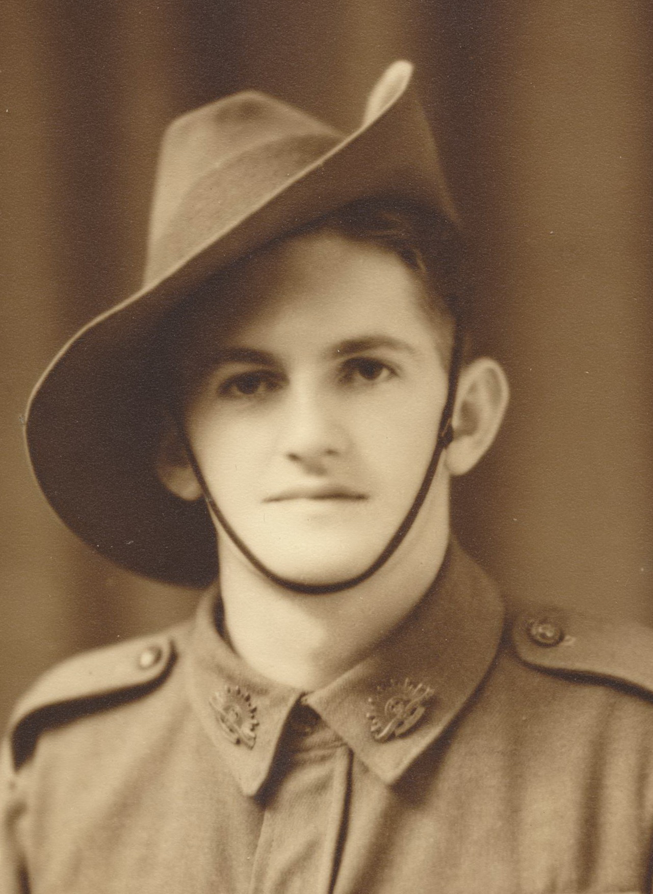 Keith Petty in Australian Army uniform