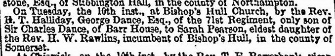 The Times 10 January 1843